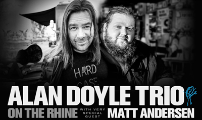 Alan Doyle on the River Danube Cruise by Niche Travel Group